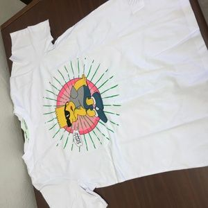 Off White Bart Simpson Tee